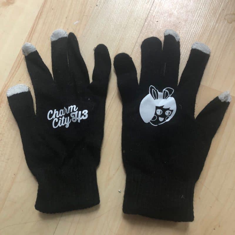 CCH3 Black Winter Gloves