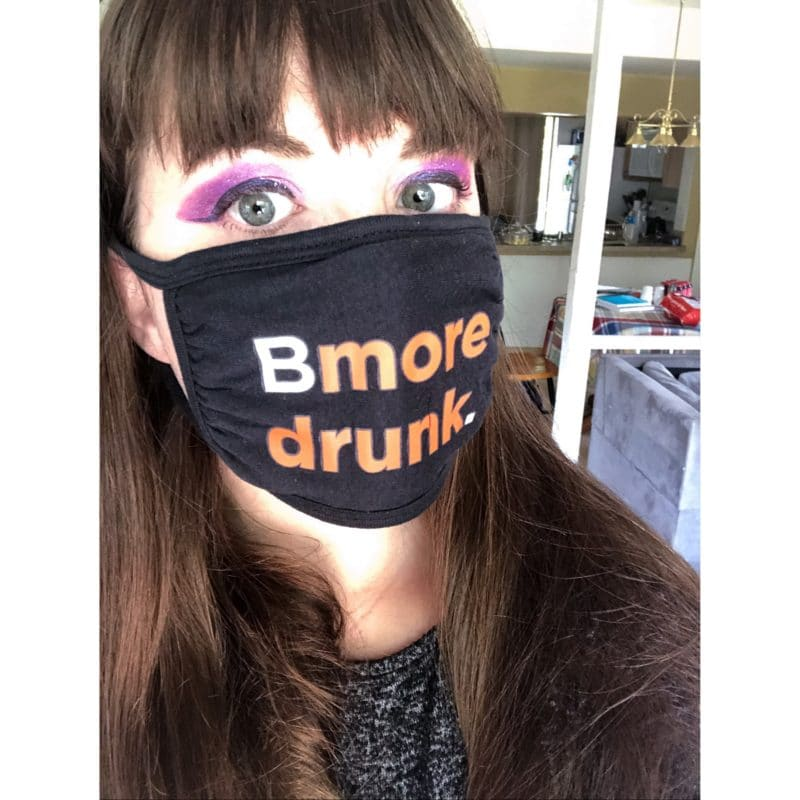 Bmore Drunk Face Mask